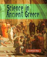 Cover of: Science in ancient Greece