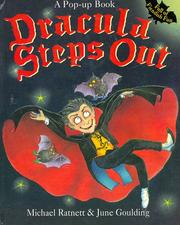Cover of: Dracula steps out