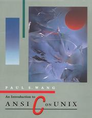 Cover of: An Introduction to ANSI C on Unix (Computer Science)