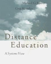 Cover of: Distance Education | Michael G. Moore