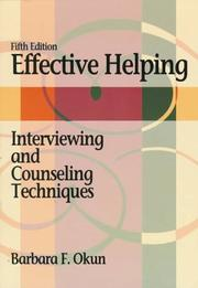 Effective helping by Barbara F. Okun