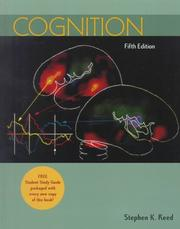 Cover of: Cognition | Stephen K. Reed