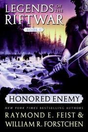 Cover of: Honored Enemy (Legends of the Riftwar, Book 1) | Raymond E. Feist