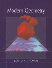 Cover of: Modern Geometry | David A. Thomas