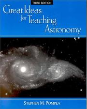 Cover of: Great ideas for teaching astronomy |