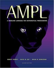 Cover of: AMPL | Robert Fourer