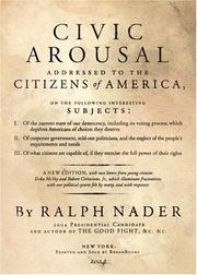 Cover of: Civic Arousal