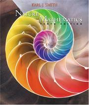 Cover of: The nature of mathematics