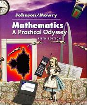 Cover of: Mathematics | Johnson, David B.