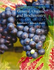 Cover of: Introduction to general, organic & biochemistry