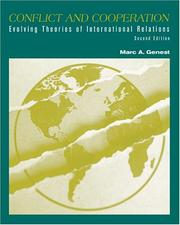 Cover of: Conflict and Cooperation | Marc A. Genest
