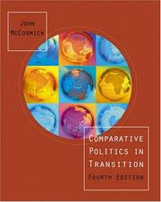 Cover of: Comparative Politics in Transition | John McCormick