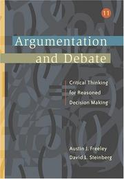 Cover of: Argumentation and debate