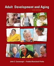 Cover of: Adult development and aging |