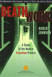 Cover of: Death Work | Robert Johnson