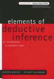 Cover of: Elements of Deductive Inference