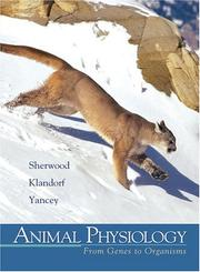 Cover of: Animal physiology | Lauralee Sherwood