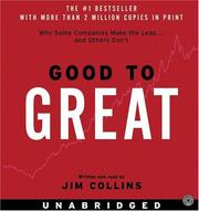 Cover of: Good to Great CD | James C. Collins