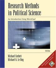 Cover of: Research methods in political science