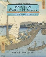 Cover of: Sources of World History, Volume II (Sources of World History Vol. 2)