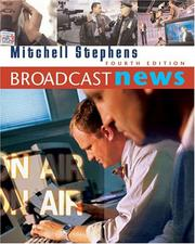 Cover of: Broadcast News | Mitchell Stephens