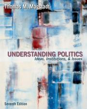 Cover of: Understanding Politics | Thomas M. Magstadt