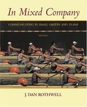 Cover of: In Mixed Company