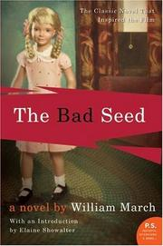 Cover of: The Bad Seed