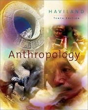 Cover of: Anthropology With Infotrac | William A. Haviland