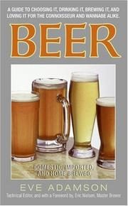 Cover of: Beer: Domestic, Imported, and Home Brewed