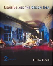 Cover of: Lighting and the Design Idea
