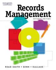 Cover of: Records management