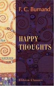 Cover of: Happy Thoughts