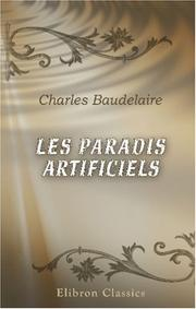 Cover of: Les paradis artificiels
