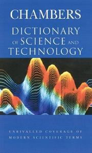 Cover of: Chambers Dictionary of Science and Technology (Dictionary) | Peter Walker