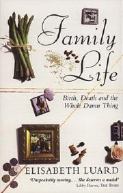 Cover of: Family life