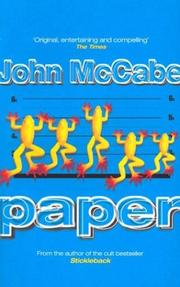 Cover of: The Paper | John McCabe