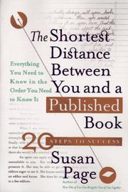 Cover of: The shortest distance between you and a published book