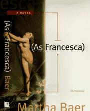 Cover of: As Francesca