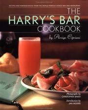 Cover of: The Harry's Bar Cookbook