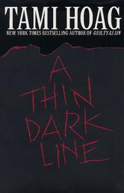 Cover of: A thin dark line