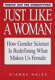 Cover of: Just like a woman