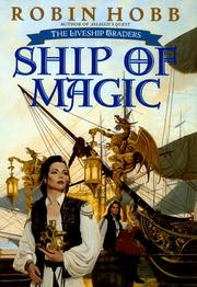 Cover of: Ship of magic: The Liveship Traders, Book I