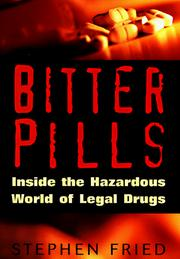 Cover of: Bitter pills | Stephen Fried