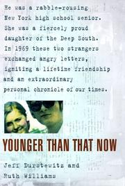 Cover of: Younger than that now