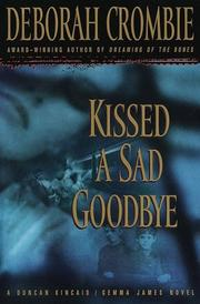Cover of: Kissed a sad goodbye