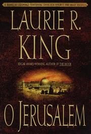 Cover of: O Jerusalem: a Mary Russell novel