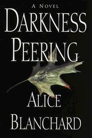 Cover of: Darkness peering