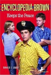 Cover of: Encyclopedia Brown Keeps the Peace (Encyclopedia Brown)