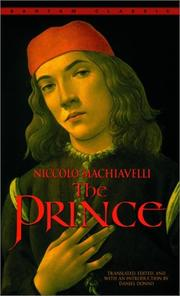 Cover of: The Prince (Bantam Classics) by Niccolò Machiavelli